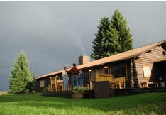 Firehole Ranch home
