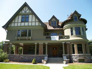 Story Mansion, Bozeman MT, front view