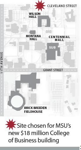 MSU CoB- N Wilson Site (Bozeman Daily Chronicle)