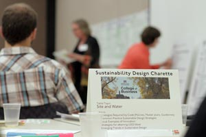 MSU CoB Sustainability Design Charrette meeting