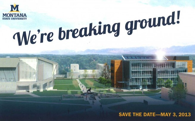 Jabs Hall Groundbreaking